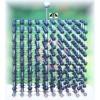 Modele sieci kryształów – zestaw podstawowy (diament, grafit, halit, lód, fulleren C60)