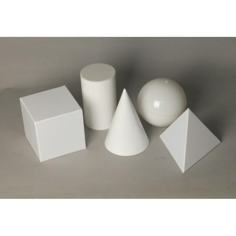 Bryły geometryczne - pełne obrotowe i foremne