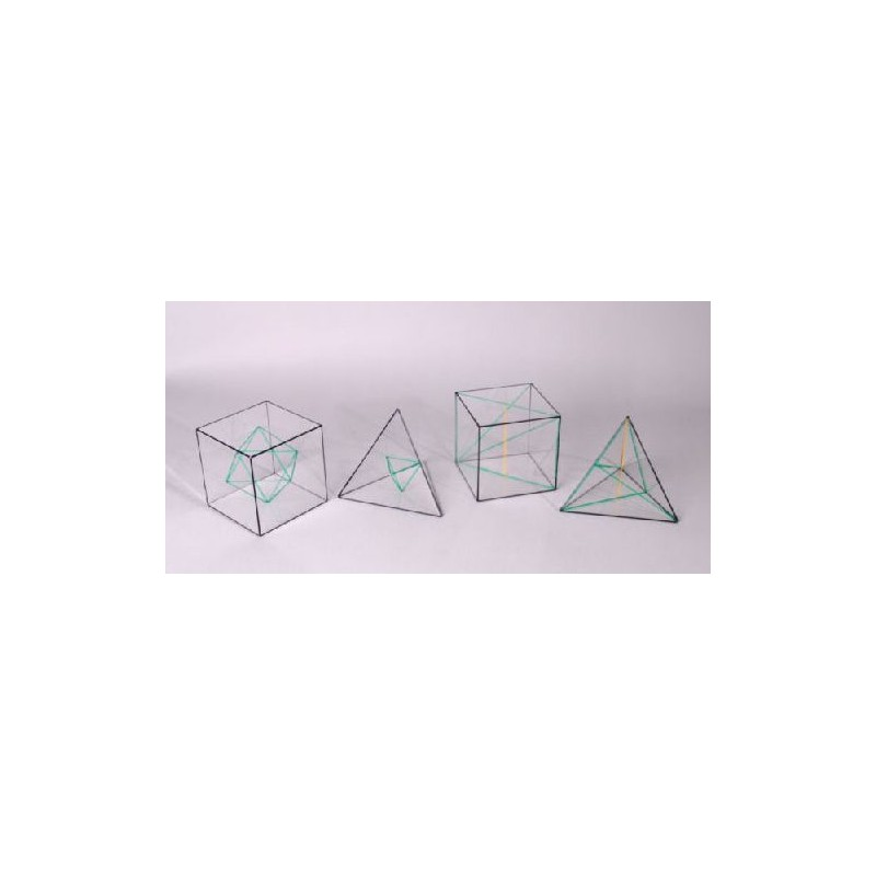 Bryły geometryczne - wielościany foremne