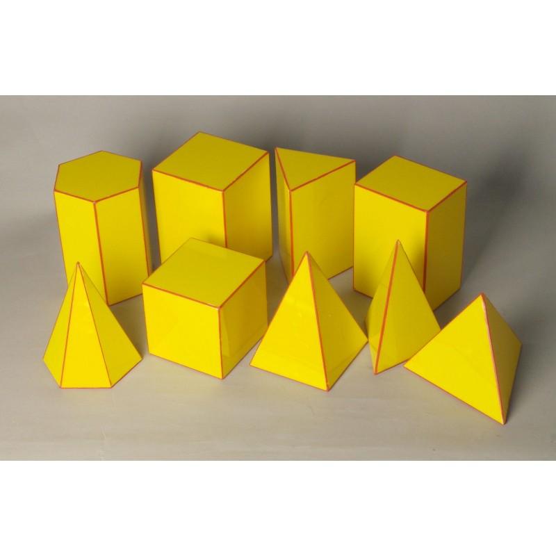 Bryły geometryczne - wielościany pełne