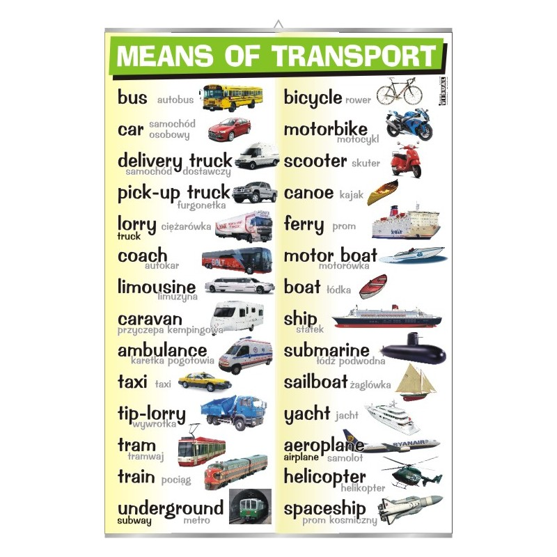 Means of transport