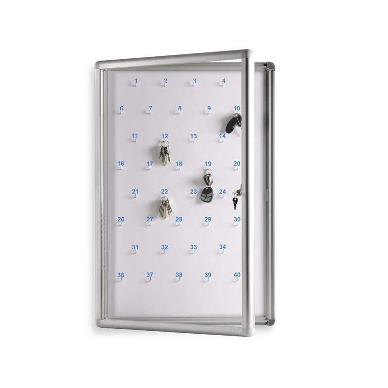 Gablota na klucze 80x100 cm 100 kluczy