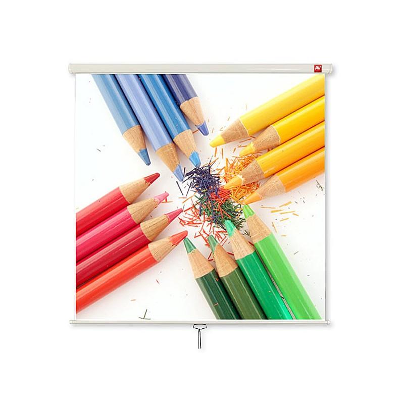 Ekran ścienny ręczny Avtek Wall Standard 200