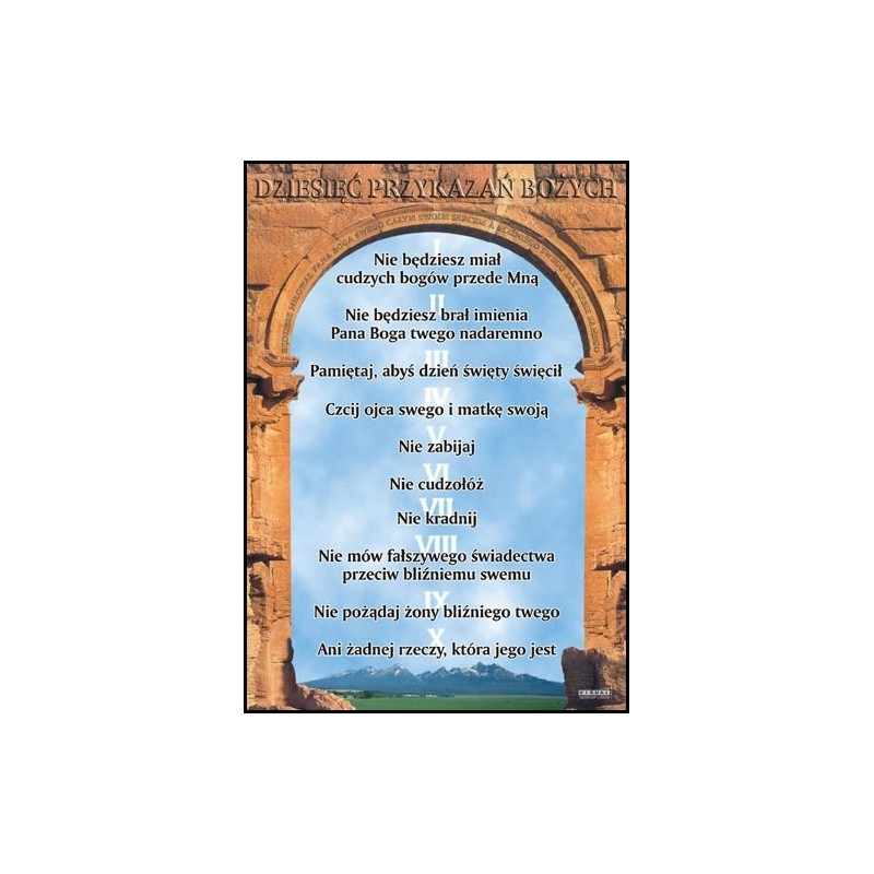 Dziesięć przykazań Bożych