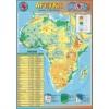Afryka - mapa fizyczna