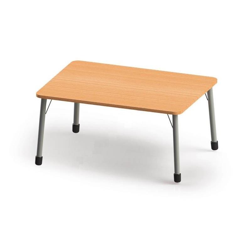 Stół prostokątny (1230x820) z metalowymi nogami. ROZMIAR 3