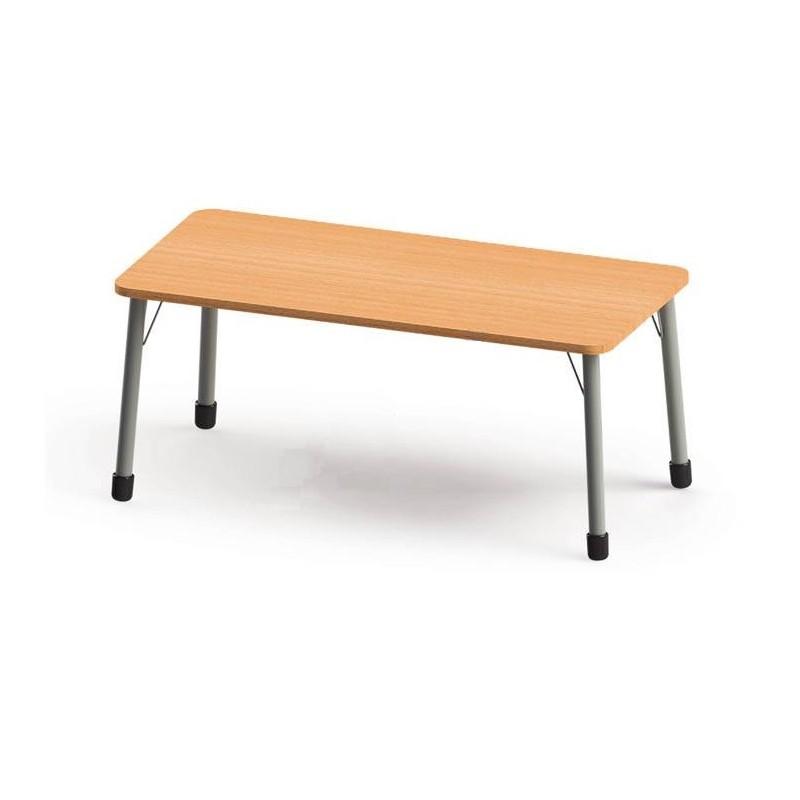 Stół prostokątny (1340x670) z metalowymi nogami. ROZMIAR 4