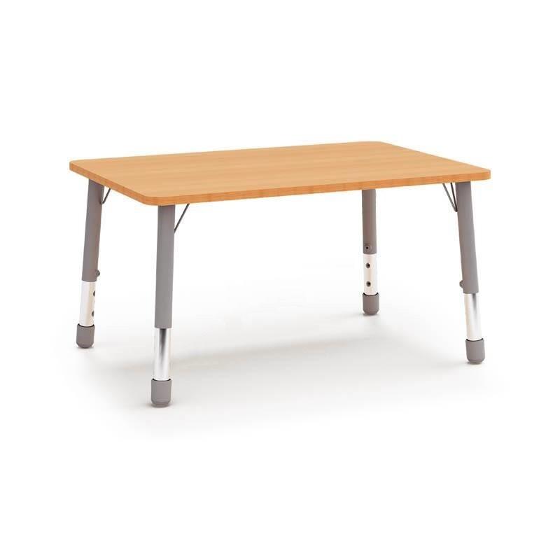 Stół prostokątny (1340x670) z metalowymi nogami z regulacją 3-4-5-6