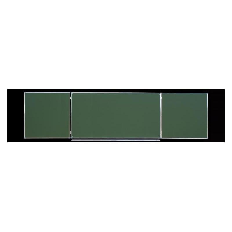 Tablica tryptyk ceramiczna, zielona 4,00 x 1,00 m typ C