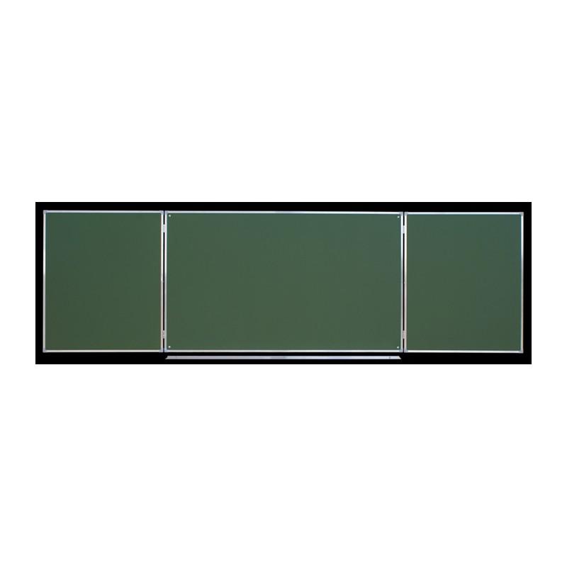Tablica tryptyk ceramiczna, zielona 3,40 x 1,00 m typ C