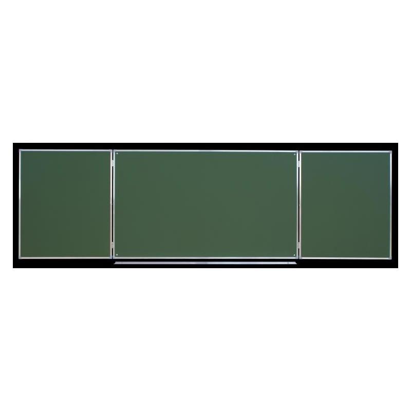 Tablica tryptyk ceramiczna, zielona 3,00 x 1,00 m typ C