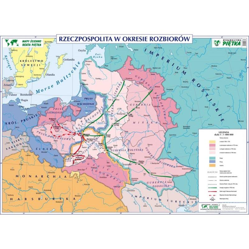 RZECZPOSPOLITA W OKRESIE ROZBIORÓW / RZECZPOSPOLITA 1648-1764