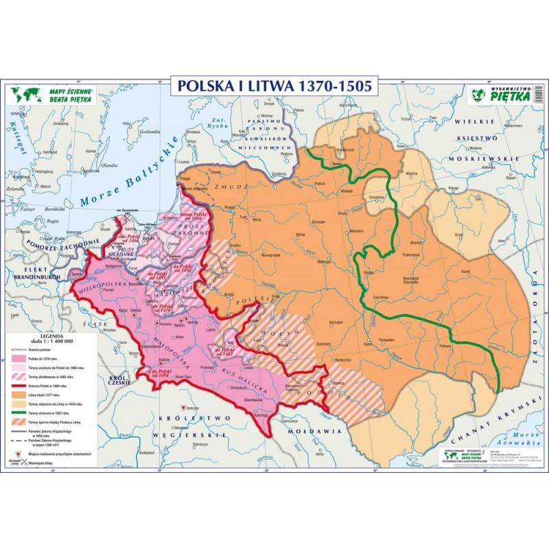 POLSKA I LITWA 1370-1505 / UNIE POLSKI Z LITWĄ