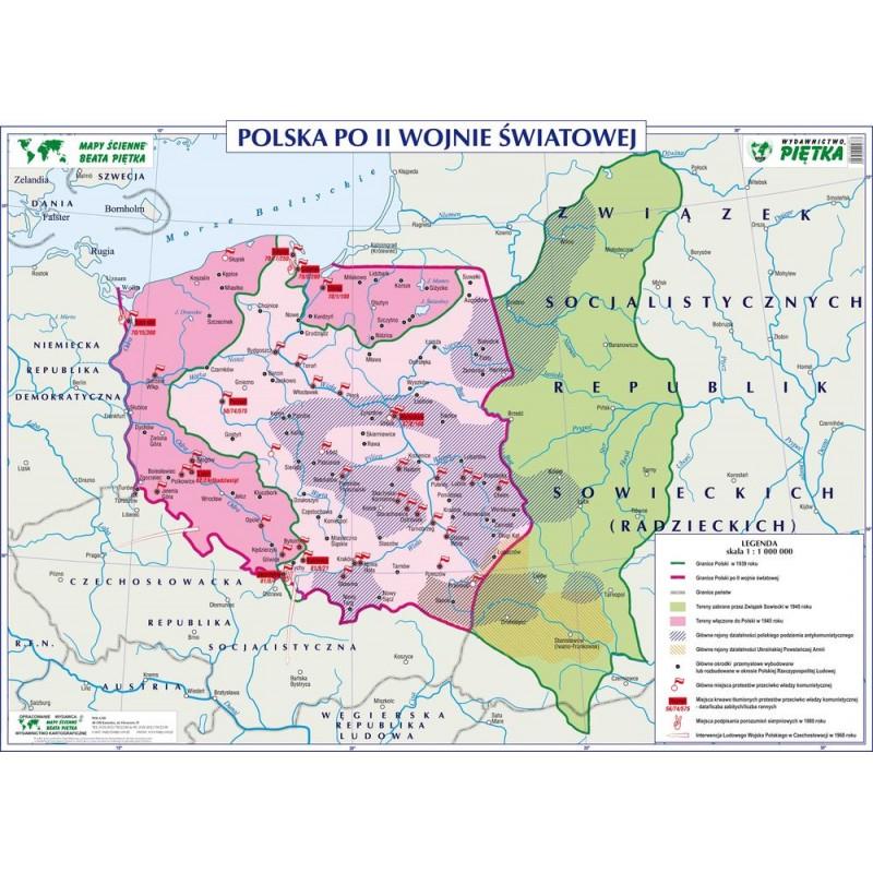 POLSKA PO II WOJNIE ŚWIATOWEJ / DZIAŁANIA ARMII CZERWONEJ NA ZIEMIACH POLSKICH 1944-1945