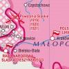 MAPA ŚCIENNA HISTORYCZNA - ODBUDOWA PAŃSTWA POLSKIEGO 140x100cm