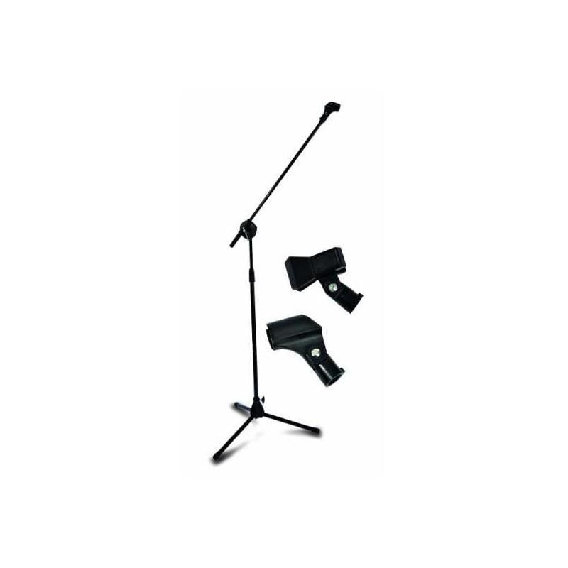 Statyw mikrofonowy z uchwytami