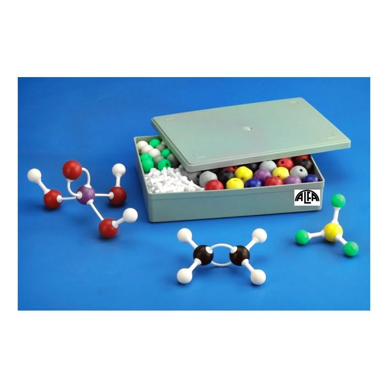 Modele atomów - zestaw do chemii organicznej rozszerzony - dla nauczyciela