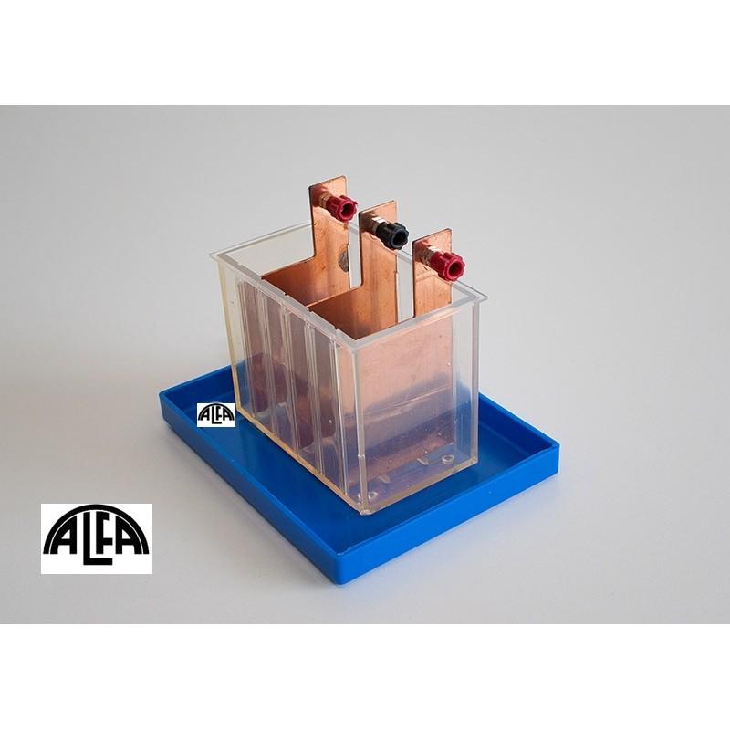 Przyrząd do wyznaczania równoważnika elektrochemicznego miedzi