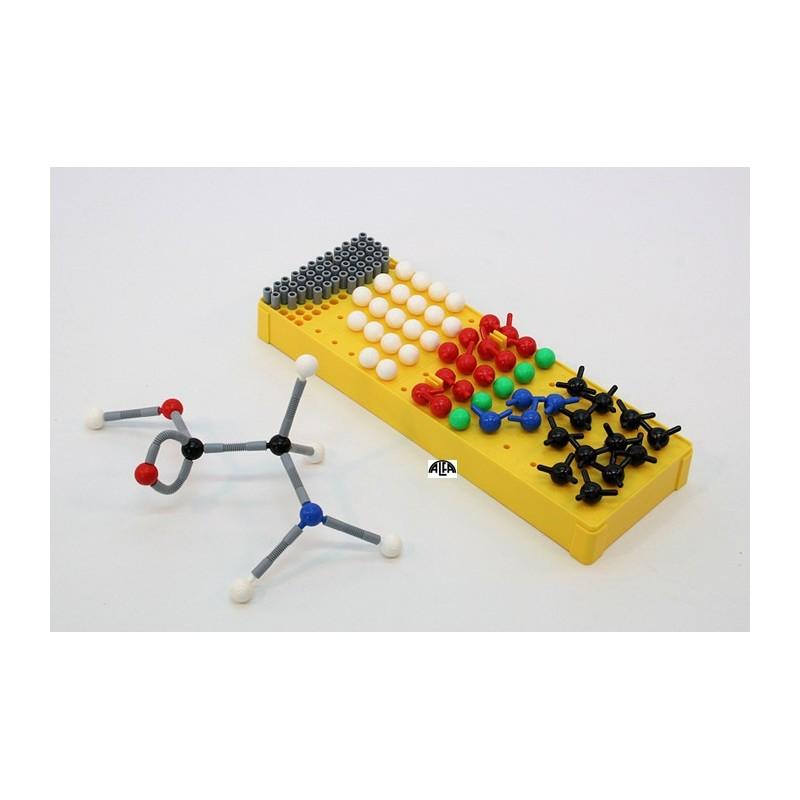 Molekuły, moduł I modele atomów 18474